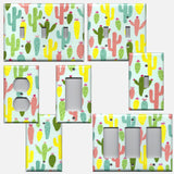 Southwest Desert Cactus Succulents Handmade Light Switch Plates & Outlet Covers- Simply Chic Gal
