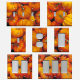 Rustic Fall Pumpkin Decor Light Switch Covers & Outlet Plate Covers