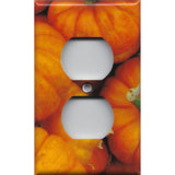 Mini Pumpkins Wall Outlet Cover Rustic Fall Decor