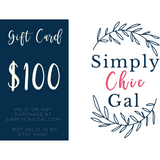 Simply Chic Gal Gift Card