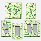 Green Golf Tees Man Cave Hand Made Light Switch Plates & Wall Outlet Covers- Simply Chic Gal