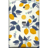 Phone Jack Cover in Lemons Farmhouse Kitchen Decor