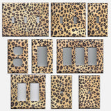 Leopard Spots Animal Print African Light Switch Plates & Outlet Covers
