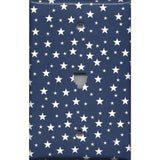 Phone Jack Cover in Navy Patriotic Americana Night Sky Stars Handmade- Simply Chic Gal