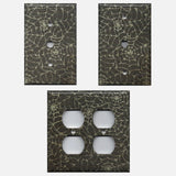 Halloween Gothic Spiderwebs Light Switch Plate Covers & Outlet Covers
