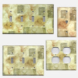 Whitetail Deer Log Cabin Decor Light Switch Plates & Outlet Covers