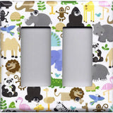 Double Rocker Decora Light Switch in Zoo Jungle Animals Nursery Decor Handmade- Simply Chic Gal