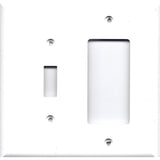 Combo Light Switch/Rocker GFI Cover