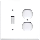 Combo Toggle Light/Outlet Cover