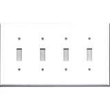 Quad Light Switch Plate Cover
