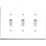 Triple Light Switchplate