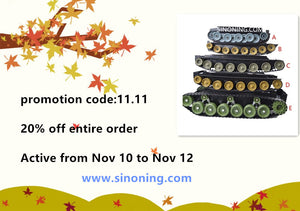 promotion code:11.11 20% off entire order