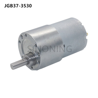 37mm Diameter All Metal Gear Box 12v DC Gear Motor Gearmotor JGB37-3530 motor High Torque Eccentric Shaft