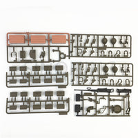 Henglong battle tank 3838-1 1/16 accessory box UV sticker self-assembly package