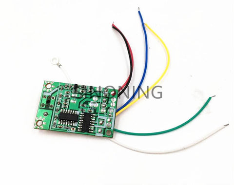 8 buttons 4CH remote control with receiver board 27Mhz for DIY SN-RM9