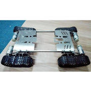 T700 Obstacle-surmounting tank car chassis crawler 4WD /smart tank car chassis