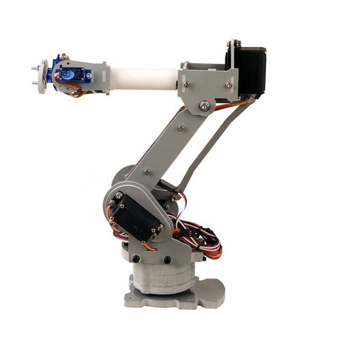 6DOF controlled 6-axis parallel-mechanism laser cut arduino kit robot arm PalletPack industrial robot arm