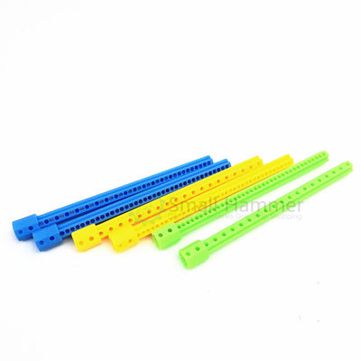10pcs Plastic 10-way extension octagonal extension rod science and technology building blocks