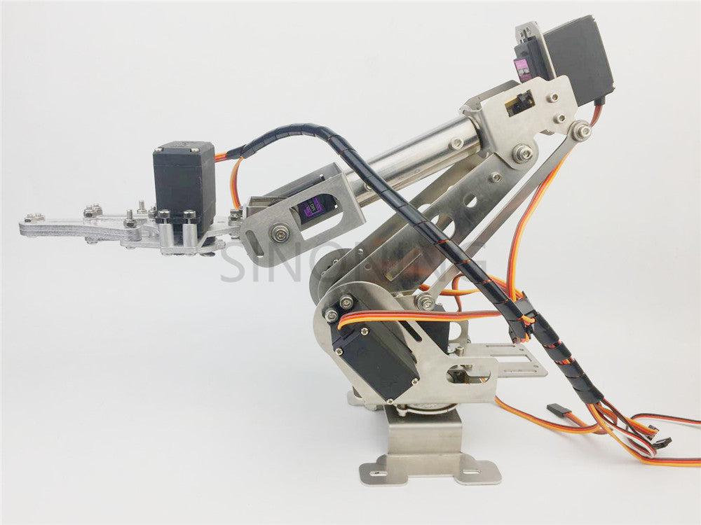 New 6DOF robotic Arm claw stainless steel 6 Axis Clamp Rotating ...