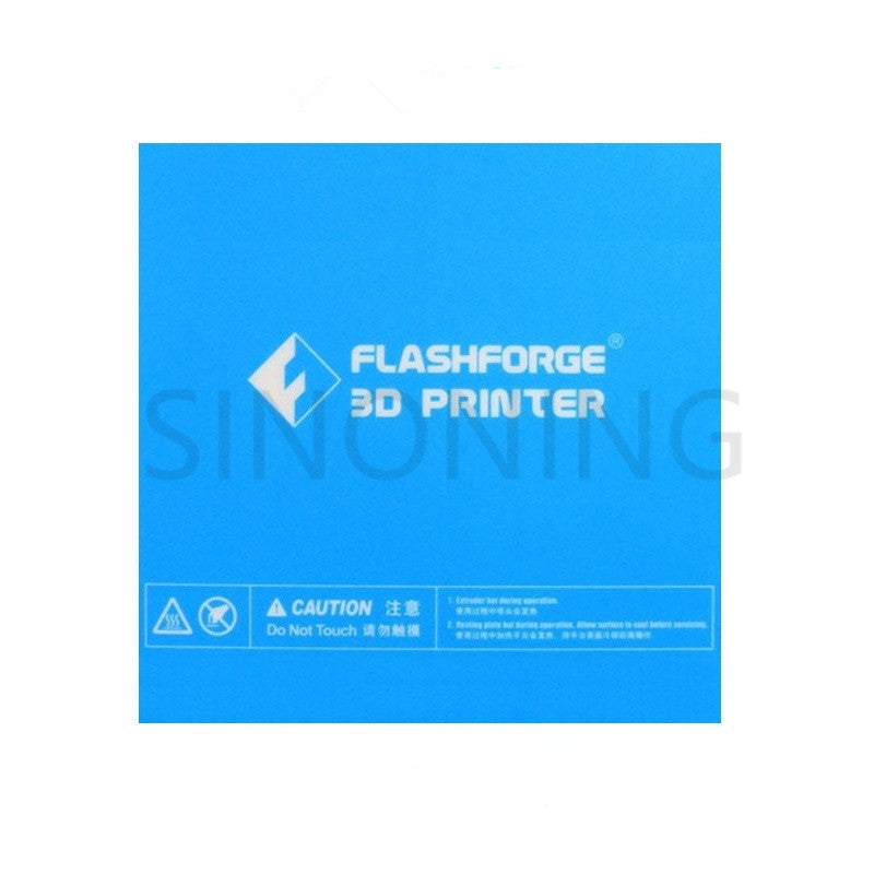 157*157mm Blue Heated Bed Tape Print Sticker Build Plate Tape For Flashforge Finder 3D Printer