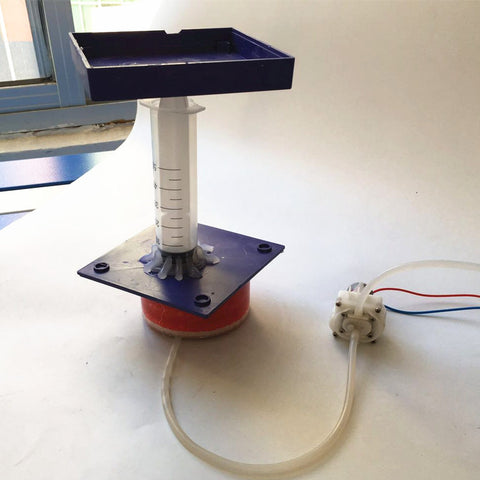 Hydraulic principle study inquiry experiment kit pump