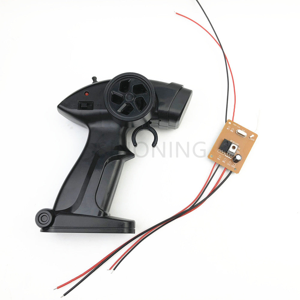 2.4G off-road vehicle sports car remote control receiver board set DIY modified 4.8v