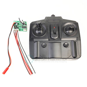 2.4G 300meter remote control and receiver for fixed wing glider aircraft SU27