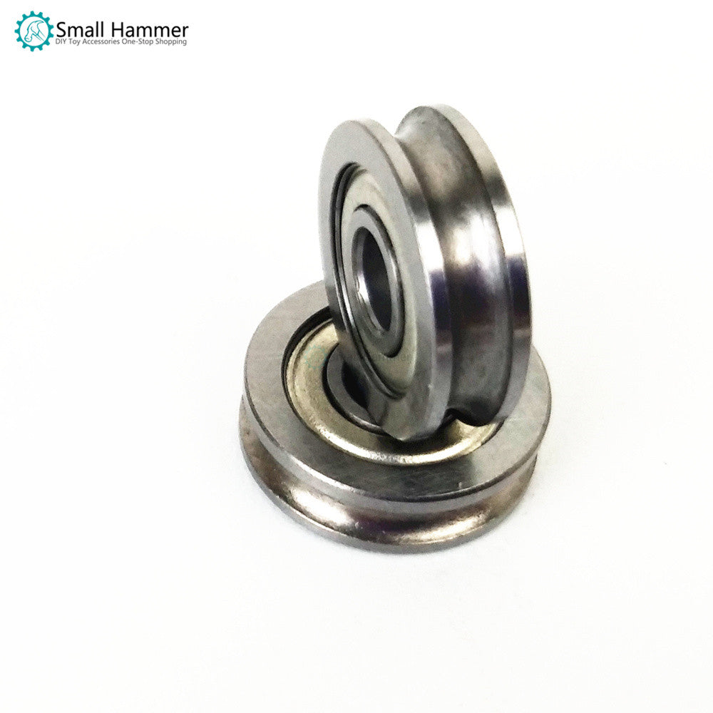 3D printer extruder parts U-shaped groove guide wheel pulley bearing U604ZZ