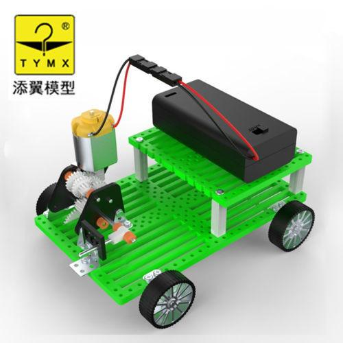 new shift gear sliding gear assembly car manual electric toy model DIY