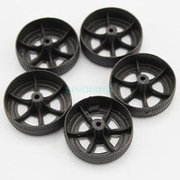 1pcs Plastic toy car wheel accessories DIY 30*9*1.9mm for 2mm axle