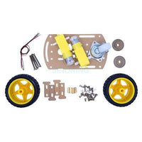 super mini robot car chassis kit diy car for Arduino 2wd for arduino