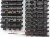 2pcs 1:16 3818 Caterpillar Chain Track Pedrail for Tank Crawler Chassis DIY