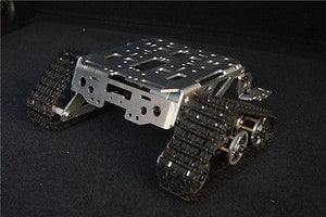 Metal Aluminum alloy Smart  tank chassis crawler  robot chassis Wali SN1100