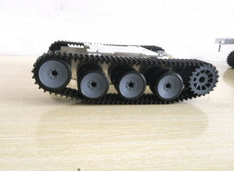SN1800 Metal Aluminium alloy Robot Tank Chassis Rugged Powerful Supper big DIY