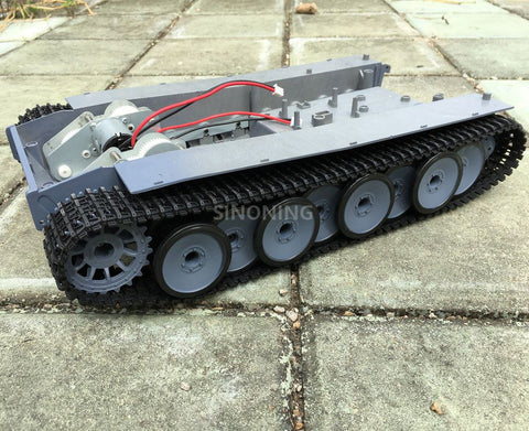 Supper big Robot Tank Chassis Crawler platform henglong 3818 large suspension