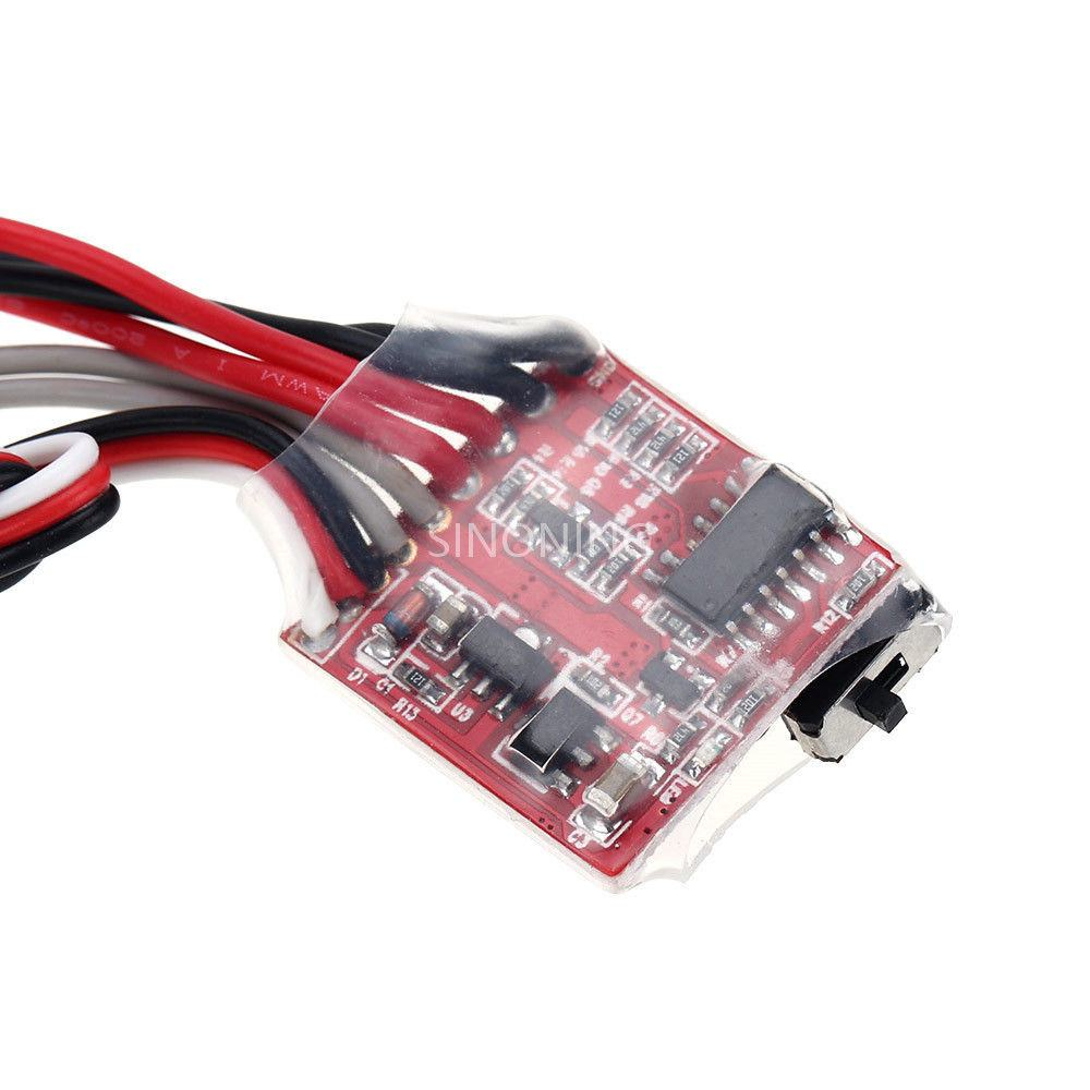 30A ESC Brushed Electronic Speed Controller without Brake for RC tank boat  car