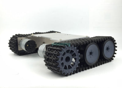 Cheap 2wd Aluminum Metal robot chassis tank ROT-1 crawler SN600 6-12v