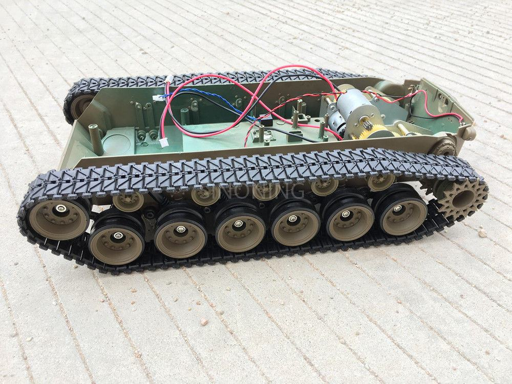 Supper big Robot Tank Chassis Crawler platform henglong 3838 large suspension SN2300