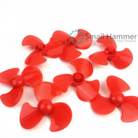 20pcs  Three-blade propeller Toy accessories Fan blade Boat paddle Technology model parts