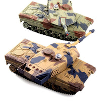 a pair(two tank) 2.4G Infrared against Battle Tank Rechargeable battery RC Russia Tanks Gift