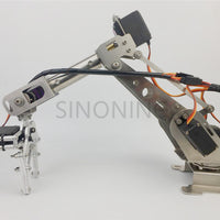New 6DOF robotic Arm claw stainless steel 6 Axis Clamp Rotating Mechanical for Arduino Raspberry