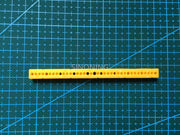 7mm*7mm*95mm plastic strip stick model accessories diy column hole 1.95mm SN40