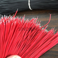 1000pcs 7/1.05MM GAUGE WIRE RED 20cm tin plating STRANDED COPPER Electrical Wire Line PCB DIY TOY