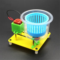 Dry machine technology model student manual class assembling toy DIY maker electric dryer dryer model