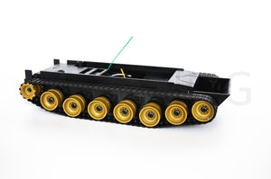 Cheap Smart Robot Tank Chassis Crawler caterpillar rubber Tracking  DIY for Arduino SN700
