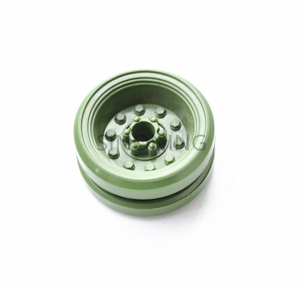 DIY tank driven wheel crawler robot wheel plastic 36mm diameter 5.9mm hole