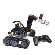 RC robot arduino acrylic tank robotic 4DOF arm DIY assembly kit