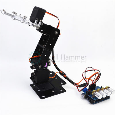 SNAM5300 4dof aluminum robot arm DIY robotic claw arduino kit