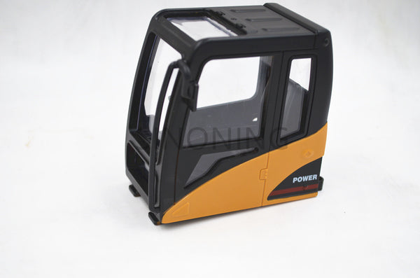 Excavator cab construction truck tank assembly modification DIY cabin