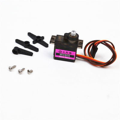MG90S Metal gear Digital 9g Servo SG90S For Rc Helicopter Plane Boat Car MG90 9G
